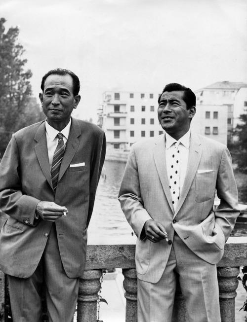 Kurosawa & Toshiro Mifune