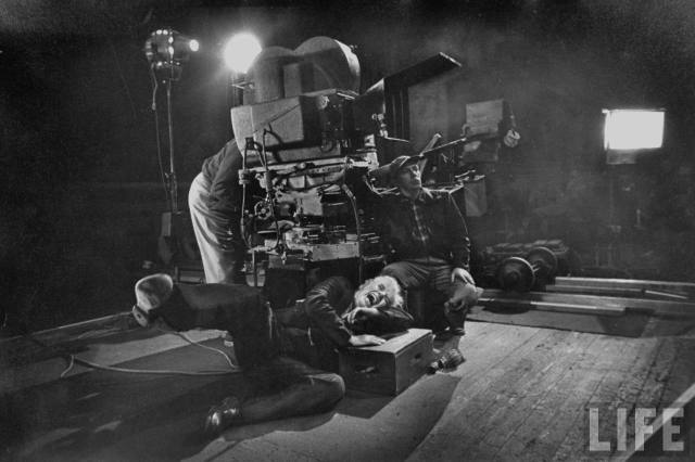 Filming 'Limelight' (1952)