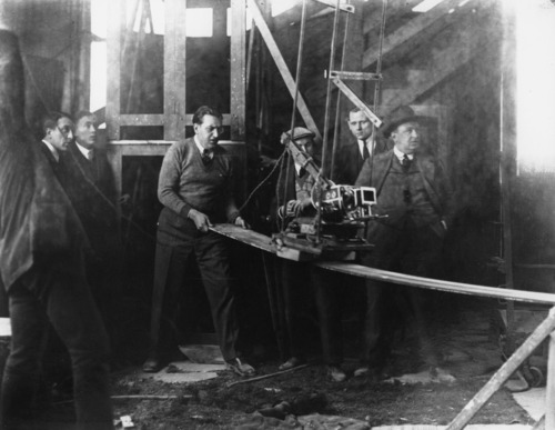 Shooting 'Metropolis' (1927)