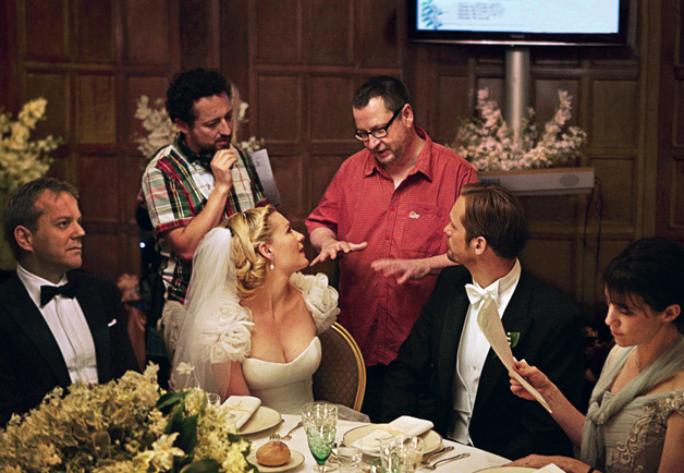 Directing Kiefer Sutherland, Kirsten Dunst, Alexander Skarsgård, Charlotte Rampling