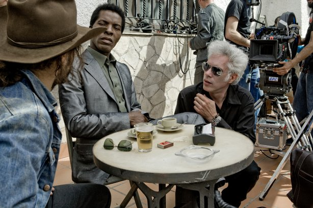 Gael García Bernal, Isaach De Bankolé, and Jarmusch 'The Limits of Control' (2009)