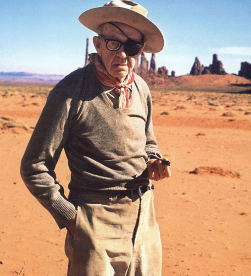 John Ford - On Set