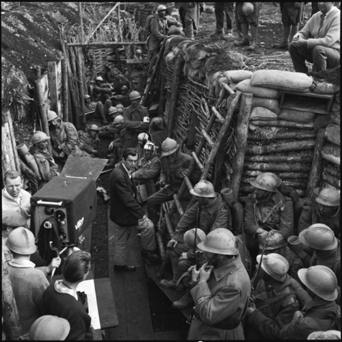 Filming 'Paths of Glory' (1957)
