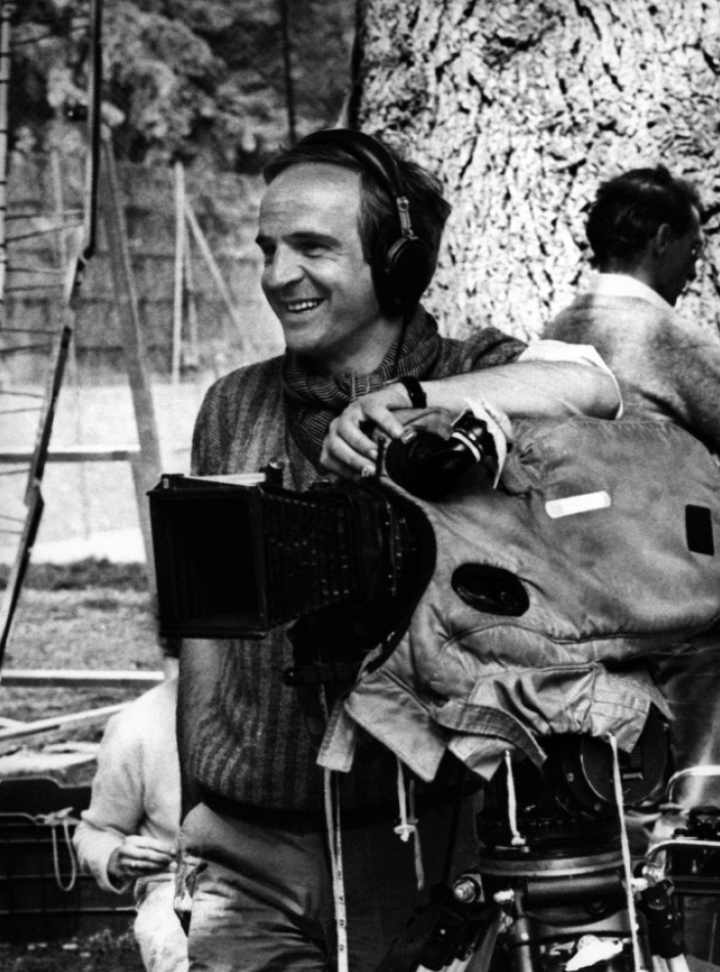 Francois Truffaut - On Set