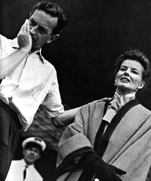 Lean & Katherine Hepburn During 'Summertime' (1955)
