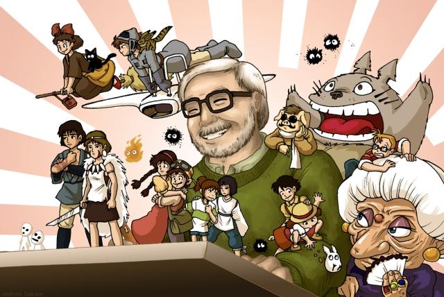 Hayao Myazaki - Characters