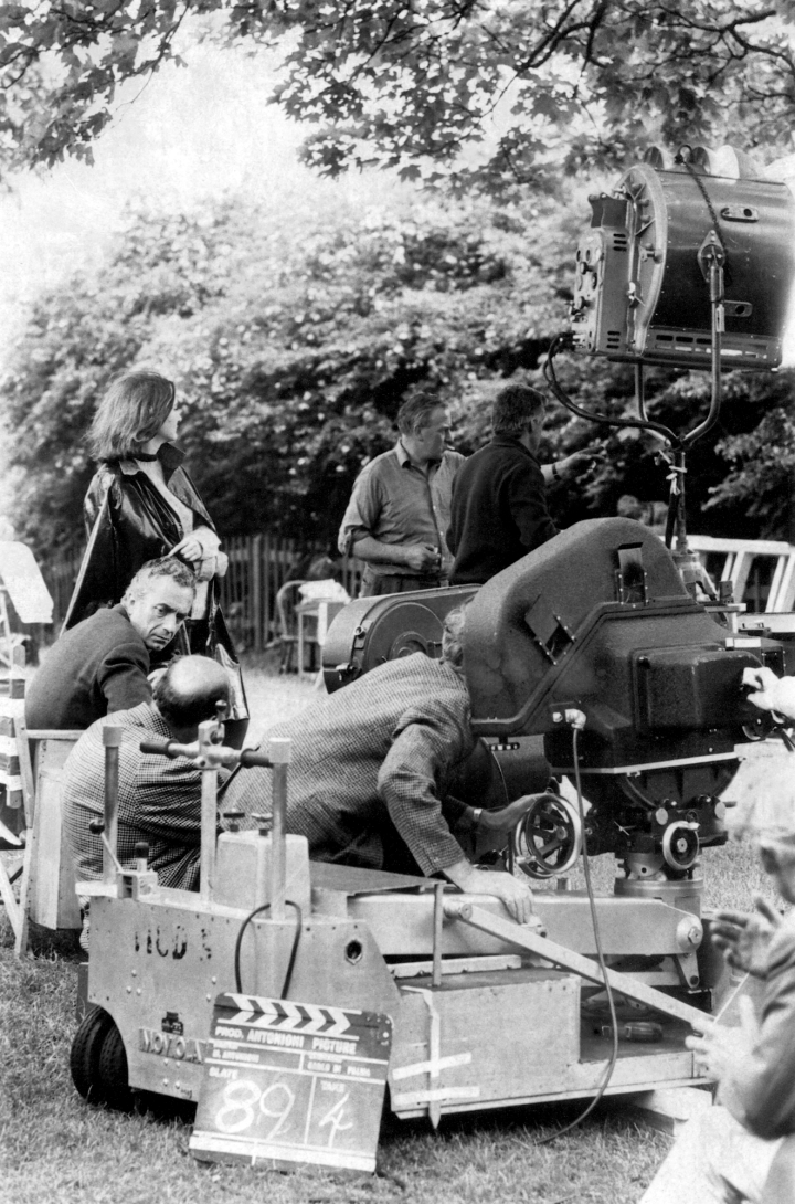 Filming 'Blow Up' (1966)