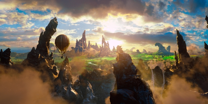Oz the Great and Powerful - The Land of Oz