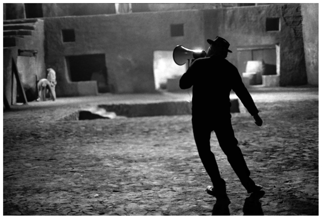 Federico Fellini - On Set