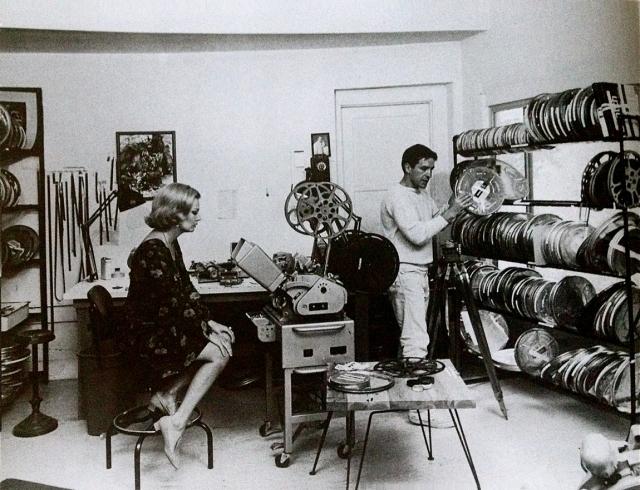 Gena Rowlands & Cassavetes Editing