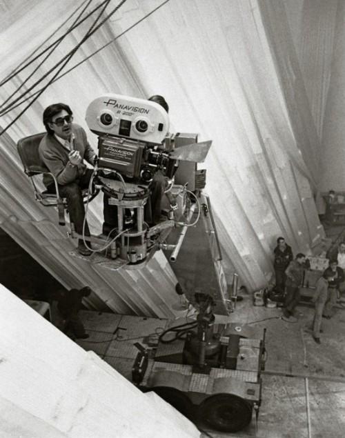 Donner Filming 'Superman' (1978)