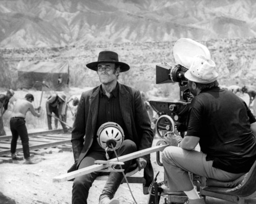 Filming Henry Fonda on 'Once Upon a Time in the West' (1968)