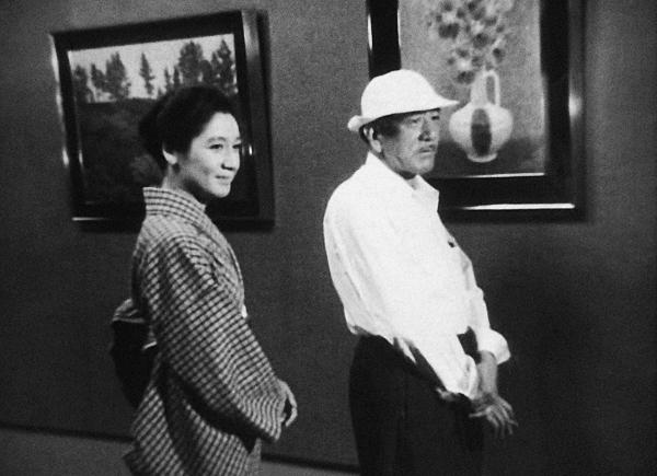 Setsuko Hara & Ozu Making 'The End of Summer' (1961)