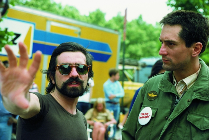 Shooting 'Taxi Driver' (1976) with Robert De Niro