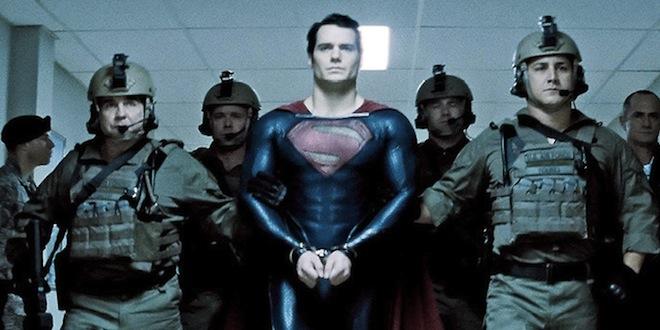 Man of Steel - Handcuffs