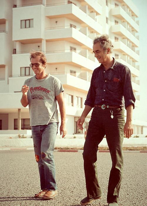Antonioni & Jack Nicholson Making 'The Passenger' (1975)