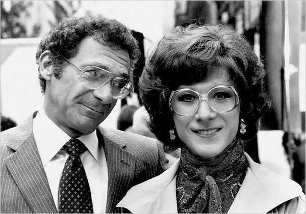 Pollack & Dustin Hoffman 'Tootsie' (1982)