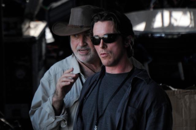 Malick & Christian Bale making 'Knight of Cups' (2013)