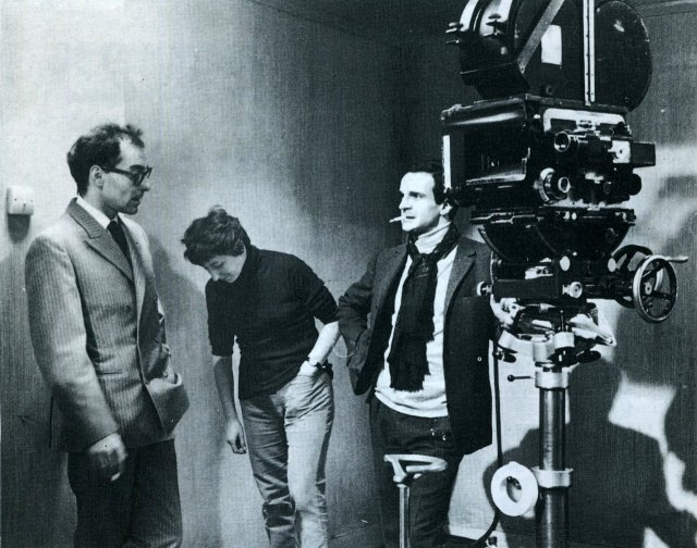 Godard, Suzanne Schiffman, & Truffaut 'Fahrenheit 451' (1966)
