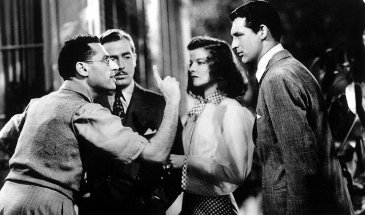 Cukor Directs John Howard, Katherine Hepburn, & Cary Grant 'The Philadelphia Story' (1940)