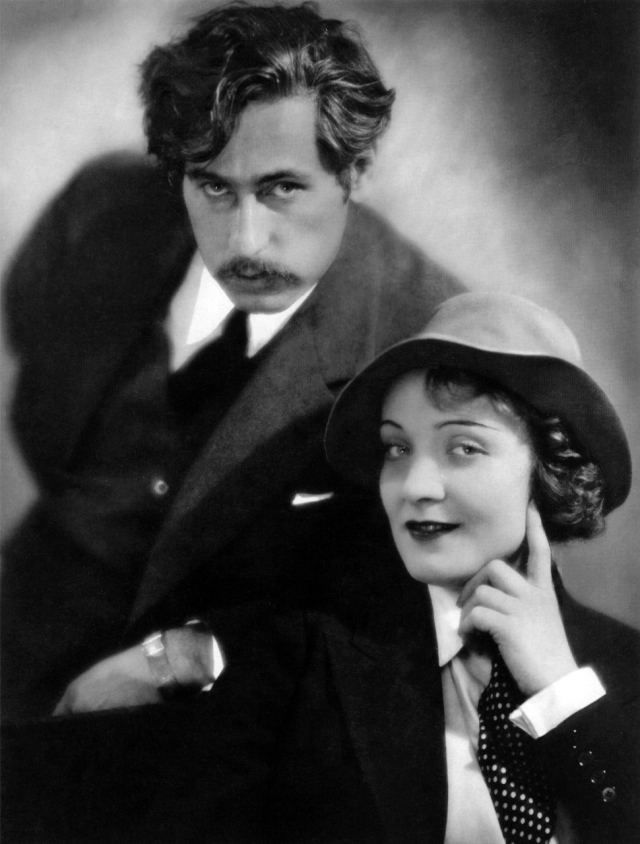 Sternberg and his muse, Marlene Dietrich