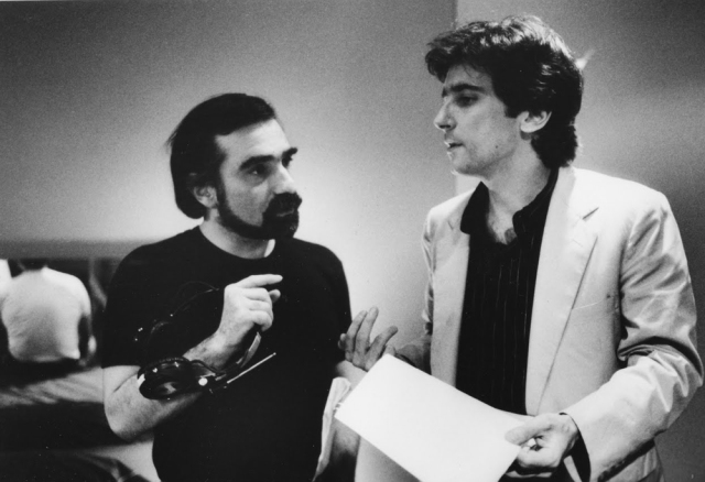 With Griffin Dunne 'After Hours' (1985)