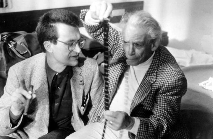 Wim Wenders with Fuller