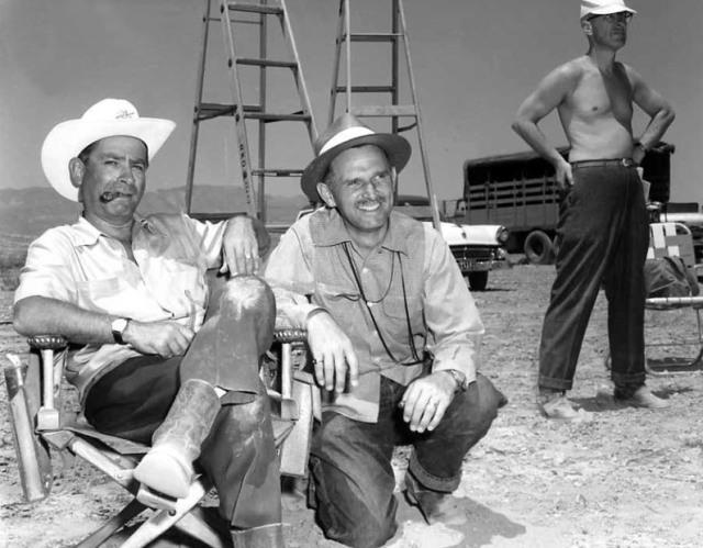 Fuller & Cinematographer Joseph F. Biroc 'Run of the Arrow' (1957)