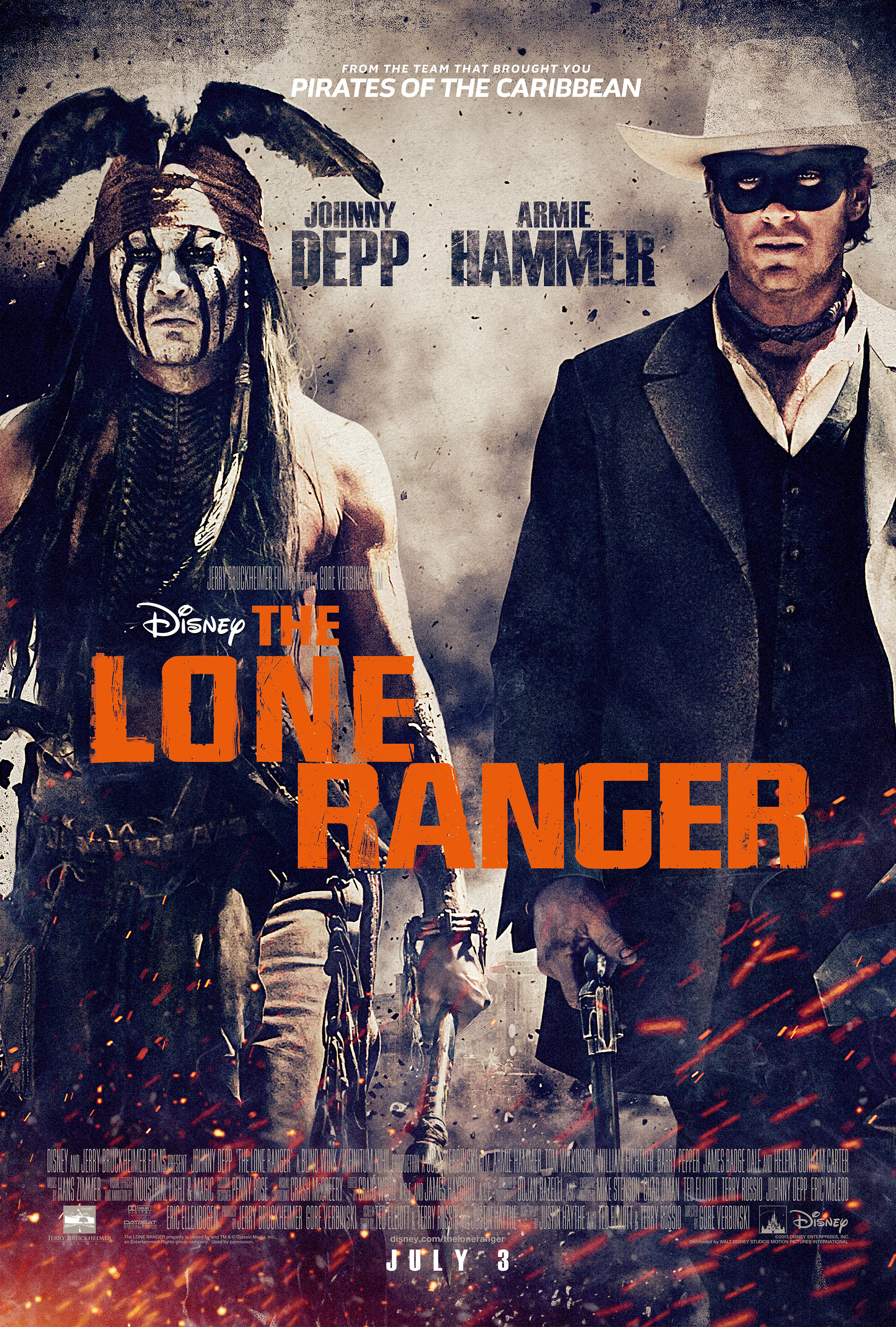 the lone ranger michael j cinema