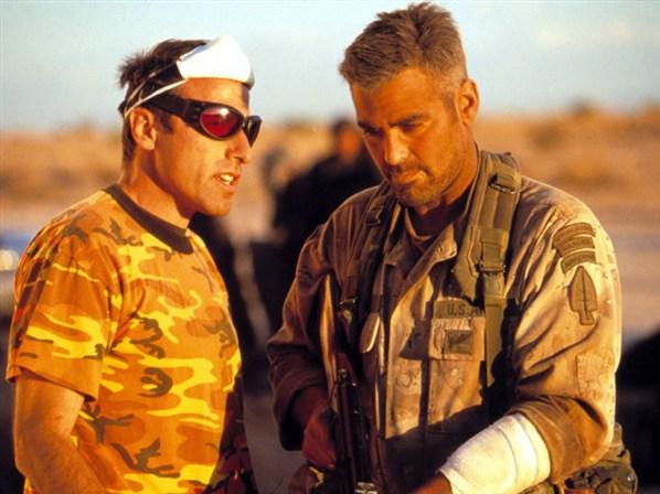Russell & George Clooney 'Three Kings' (1999)