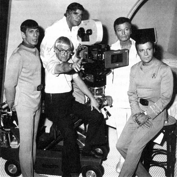 Leonard Nemoy, Gene Roddenberry, Robert Wise, DeForest Kelly, William Shatner 'Star Trek: The Motion Picture' (1979)