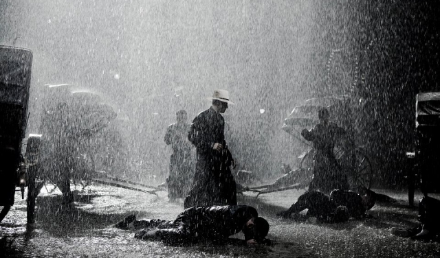 The Grandmaster - Rain Fight