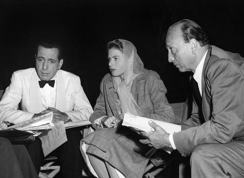 Bogie, Bergman, & Curtiz 'Casablanca' (1942)