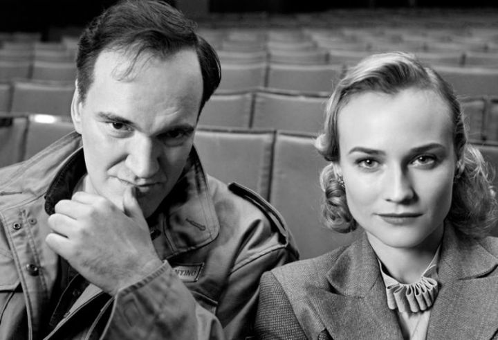 Tarantino & Diane Kruger Making 'Inglourious Basterds' (2009)