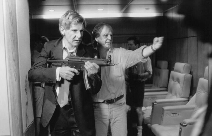 Wolfgang Petersen Directing Harrison Ford in 'Air Force One' (1997)