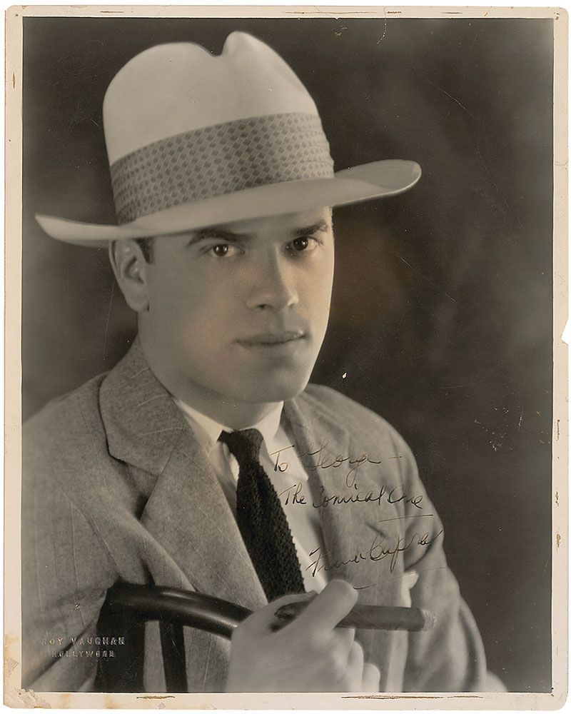 frank capra The frank capra collection 1897-1991 director, producer, author i want my archive to be available to all the people who have enjoyed my movies.