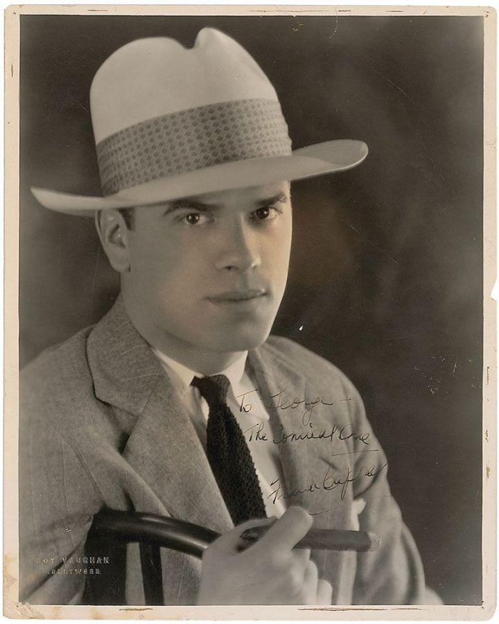 Frank Capra - Signed