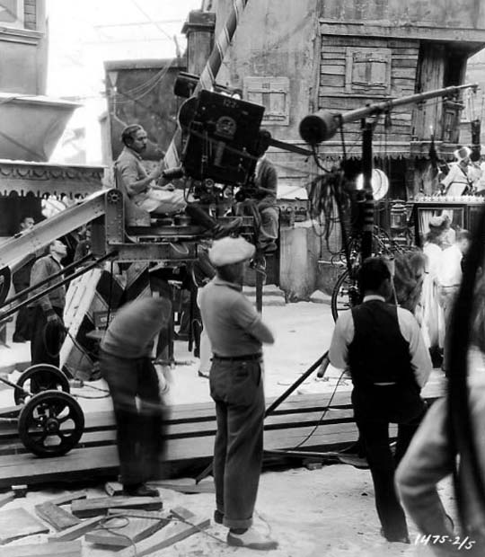 Shooting 'Scarlet Empress' (1934)