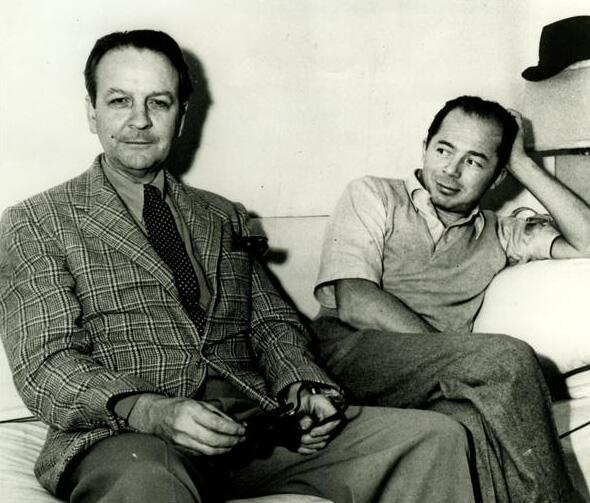 Raymond Chandler & Billy Wilder