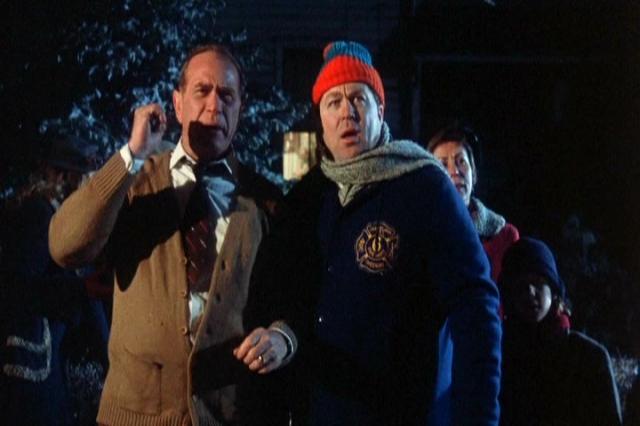 Darren McGavin & Bob Clark Filming 'A Christmas Story' (1983)