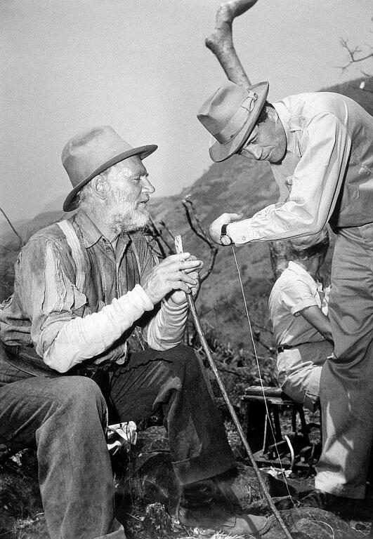 Walter & John Huston Making 'The Treasure of the Sierra Madre' (1948)