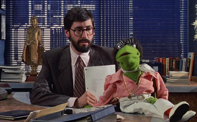 John Landis & Kermit T. Frog 'The Muppets Take Manhattan' (1984)