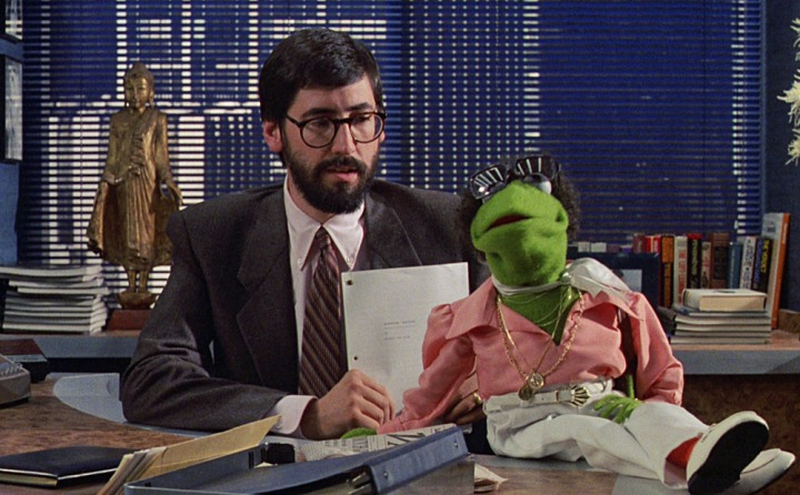 John Landis & Kermit T. Frog 'The Muppets Take Manhattan' (1984)