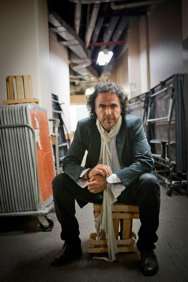 Alejandro Gonzalez Inarritu - Posing
