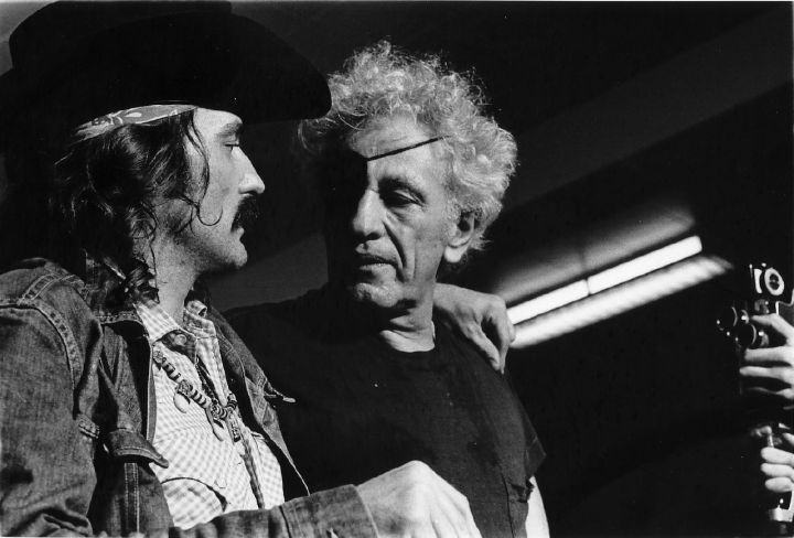 Dennis Hopper & Nicholas Ray