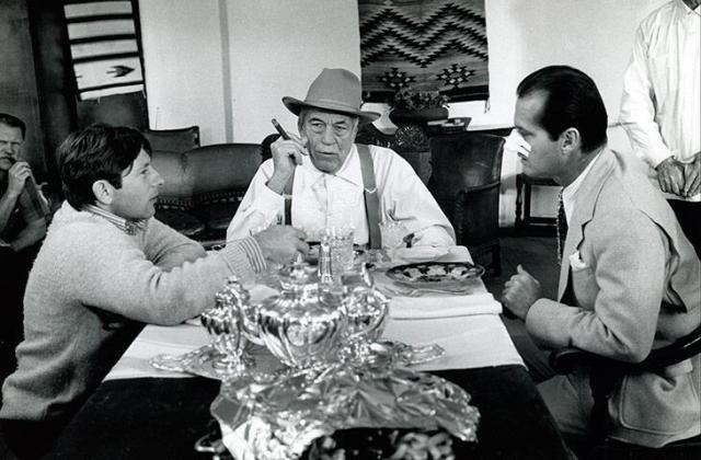 Roman Polanski, John Huston, Jack Nicholson 'Chinatown' (1974)