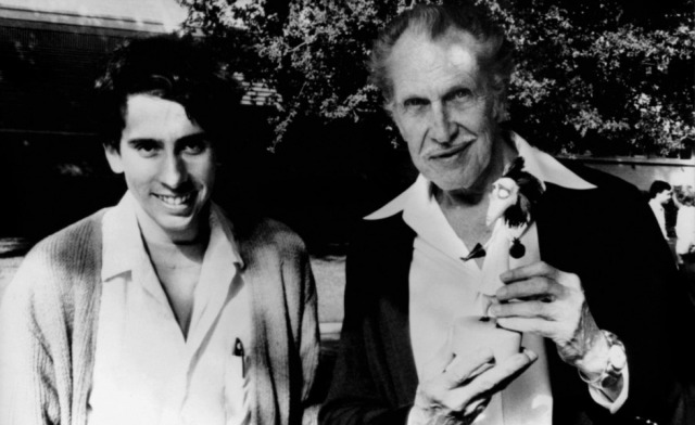 Tim Burton & Vincent Price