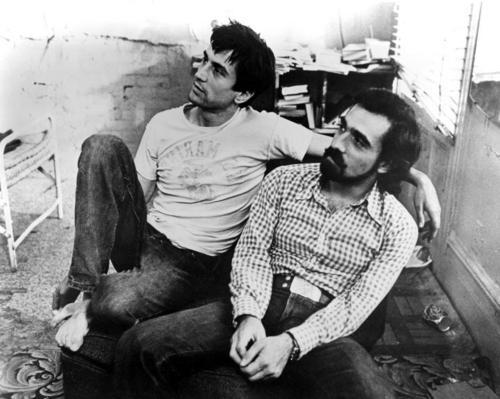 Robert De Niro & Scorsese 'Taxi Driver' (1976)