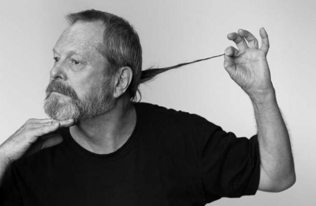 Terry Gilliam - Posing