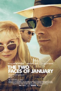 The Two Faces of January - Poster